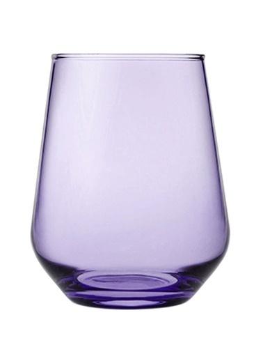 Paşabahçe 41536 6 Lı Mor Allegra Bardak Su Bardağı - Meşrubat Bardağı Mor